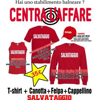 Canotta+T-Shirt+Felpa+Capellino