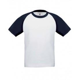B&C T-Shirt Baseball BCTK350