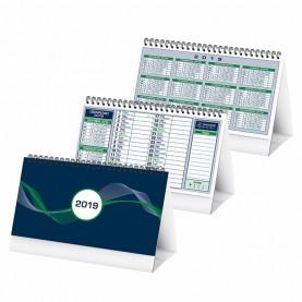 pa710verde calendario da tavolo