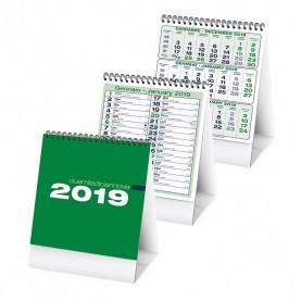 pa745 calendario da tavolo VERDE
